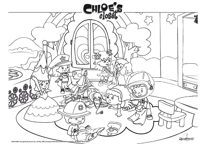 chloe color printouts