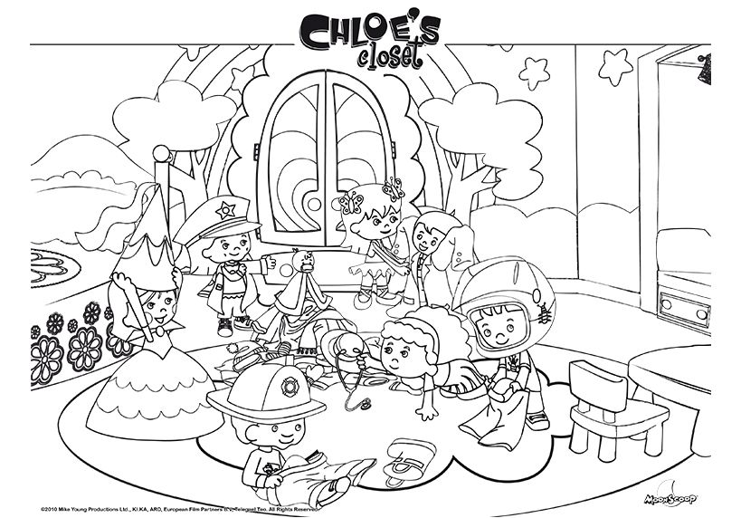 Chloe Color Printouts Image Image Application Sketches