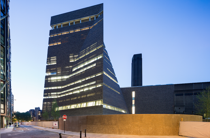 Tate Modern Switch House, London. Design by Herzog & de ...