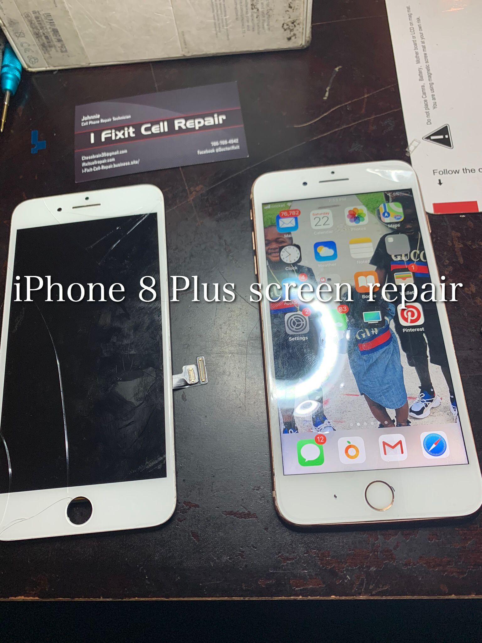 Iphone 8 Plus Screen Replacement Iphone 8 Plus Screen Repair Iphone