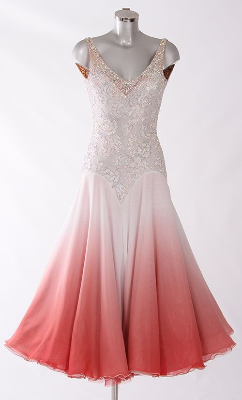 474a270bdca6d International Standard Waltz | Lady in Pink | Ballroom dance dresses ...