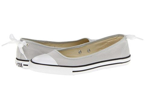 457e9b1b416c Converse Chuck Taylor® All Star® Dainty Ballerina Slip-On Ox Cloud Gray -  Zappos.com Free Shipping BOTH Ways