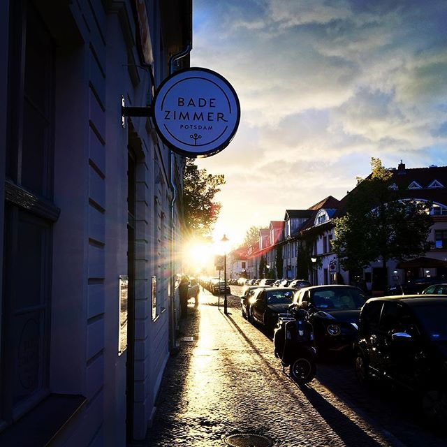 Perfect ending for a wonderful day Have a beautiful #feierabend - badezimmer potsdam