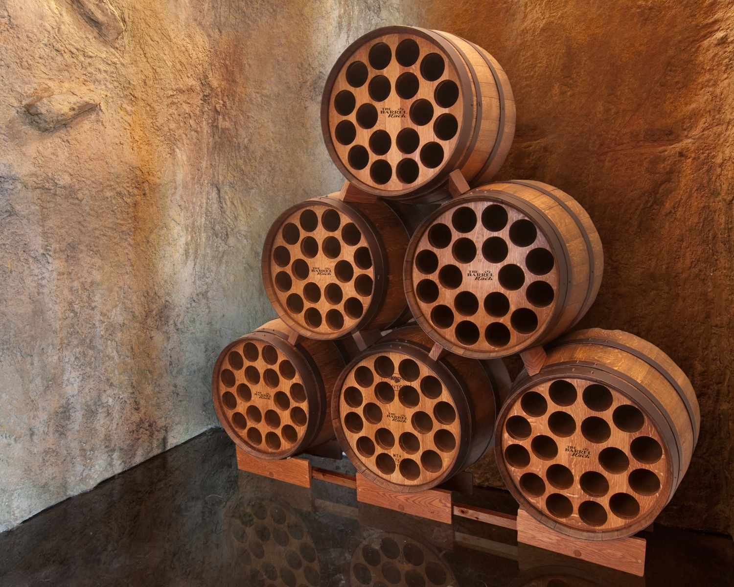 Hmmm...maybe These Will Be My Wine Racks In My Cellar.