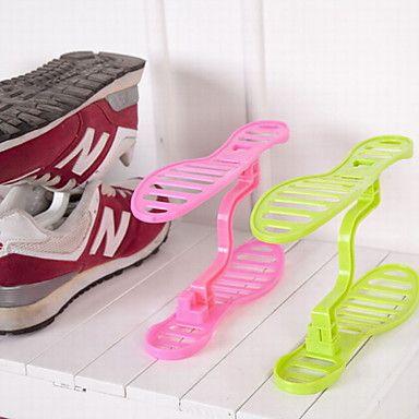 Creative Household Plastic Storage Shoe Shelf | Plastic storage ...