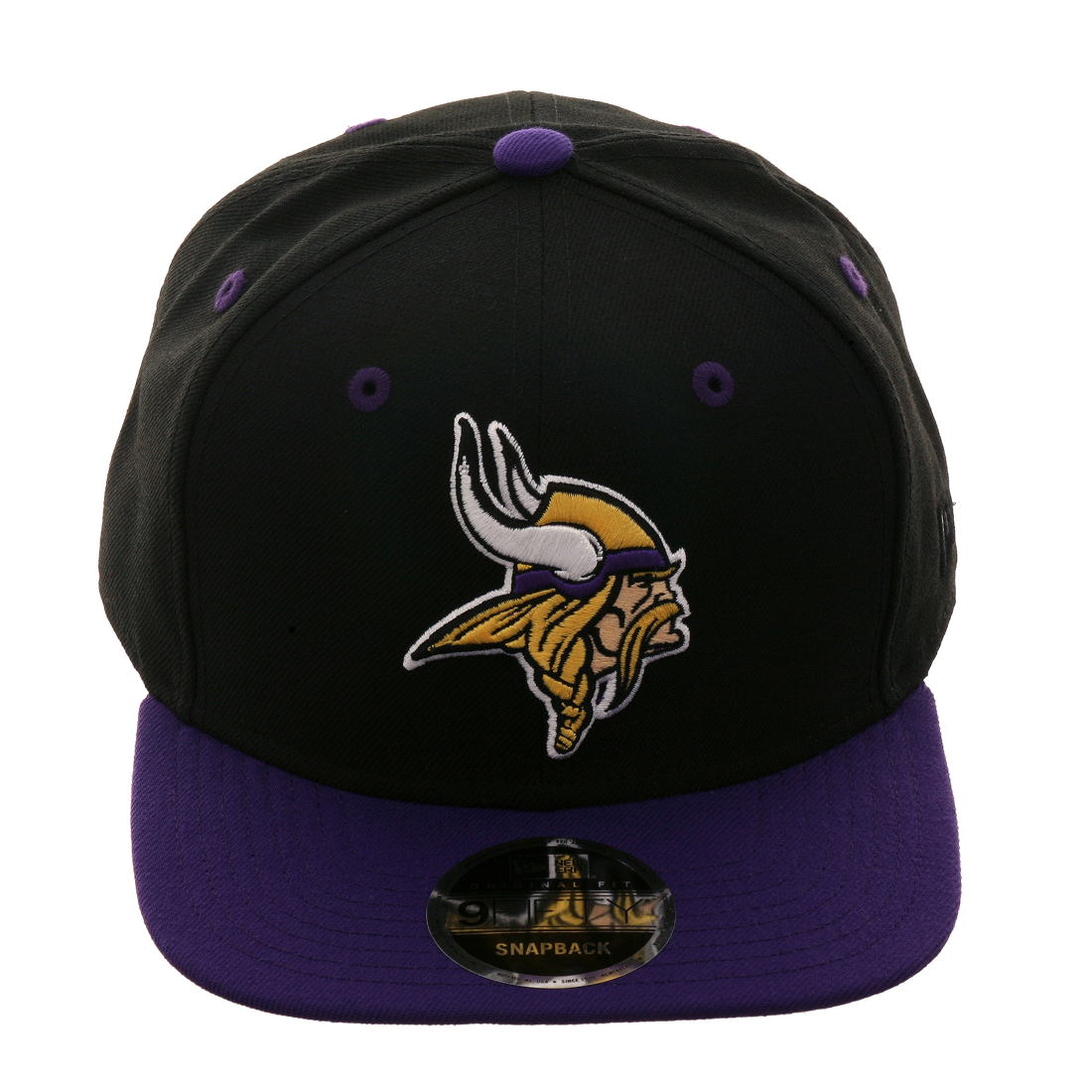 info for 8dce6 4a6ca Exclusive New Era 9Fifty Minnesota Vikings Snapback Hat - 2T Black, Purple,   29.99