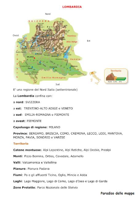 Cartina Lombardia Laghi.130 Idee Su Geografia Geografia Attivita Geografia Scuola