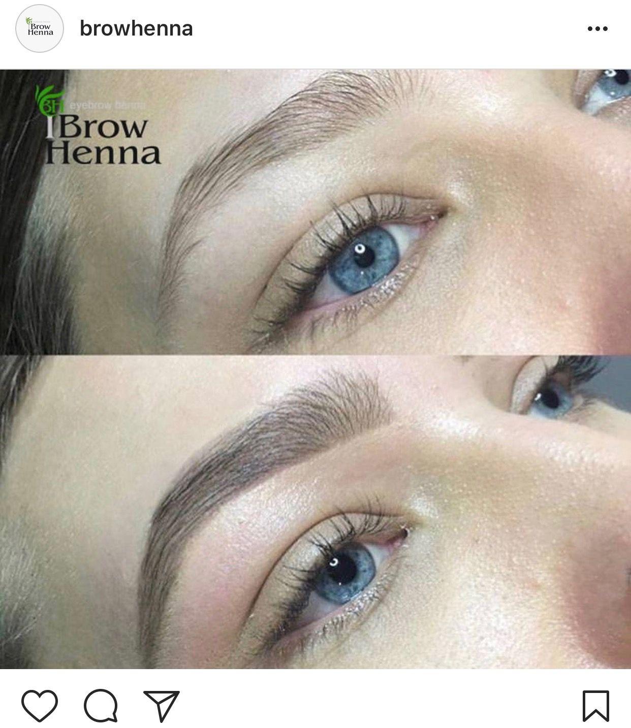 Henna Tattoo Kits For Eyebrows: Pin Van Irina Levchuk Op BH Brow Henna The Best Organic