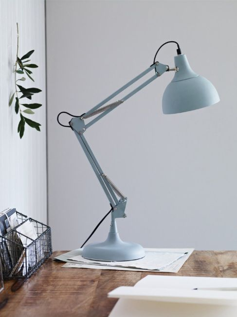 duck egg blue angel poise lamp cox and cox spring 2013. Black Bedroom Furniture Sets. Home Design Ideas