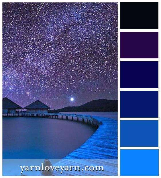 Tropical Night Palette Turquoise Blue Purple And Black Purple Palette Purple Color Schemes Purple Color Palettes