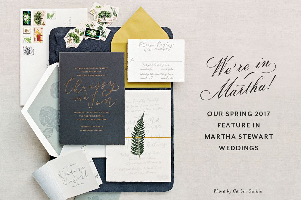 cheree berry paper | martha stewart weddings, spring 2017