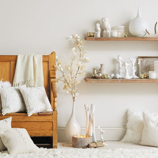 Shine brighter with expertly curated collections and winter white home décor -…