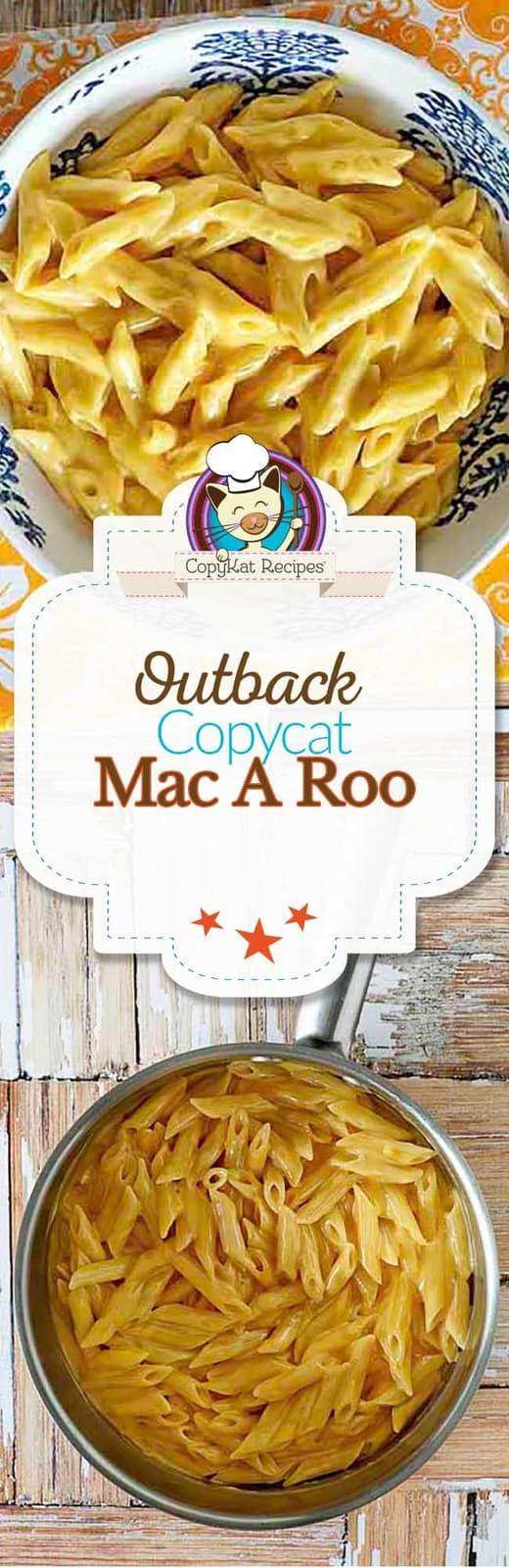 Copycat Outback Steakhouse Mac A Roo Recipe Copykat