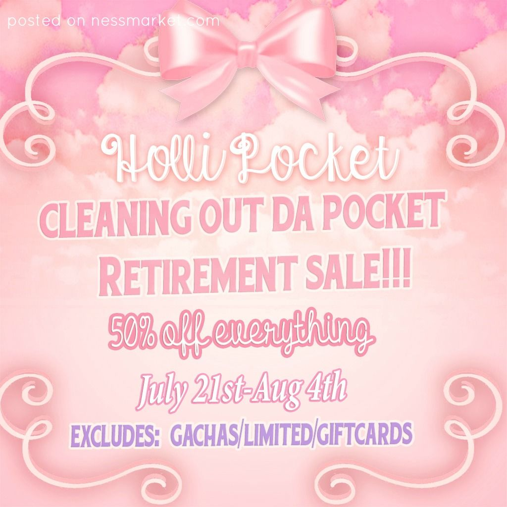 Cleaning Out Da Pocket Retirement Sale Everything Except Limited