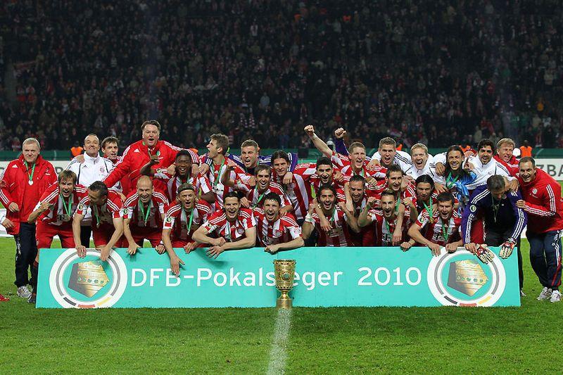 DFB Pokalsieger  2010              Bayern München :-)