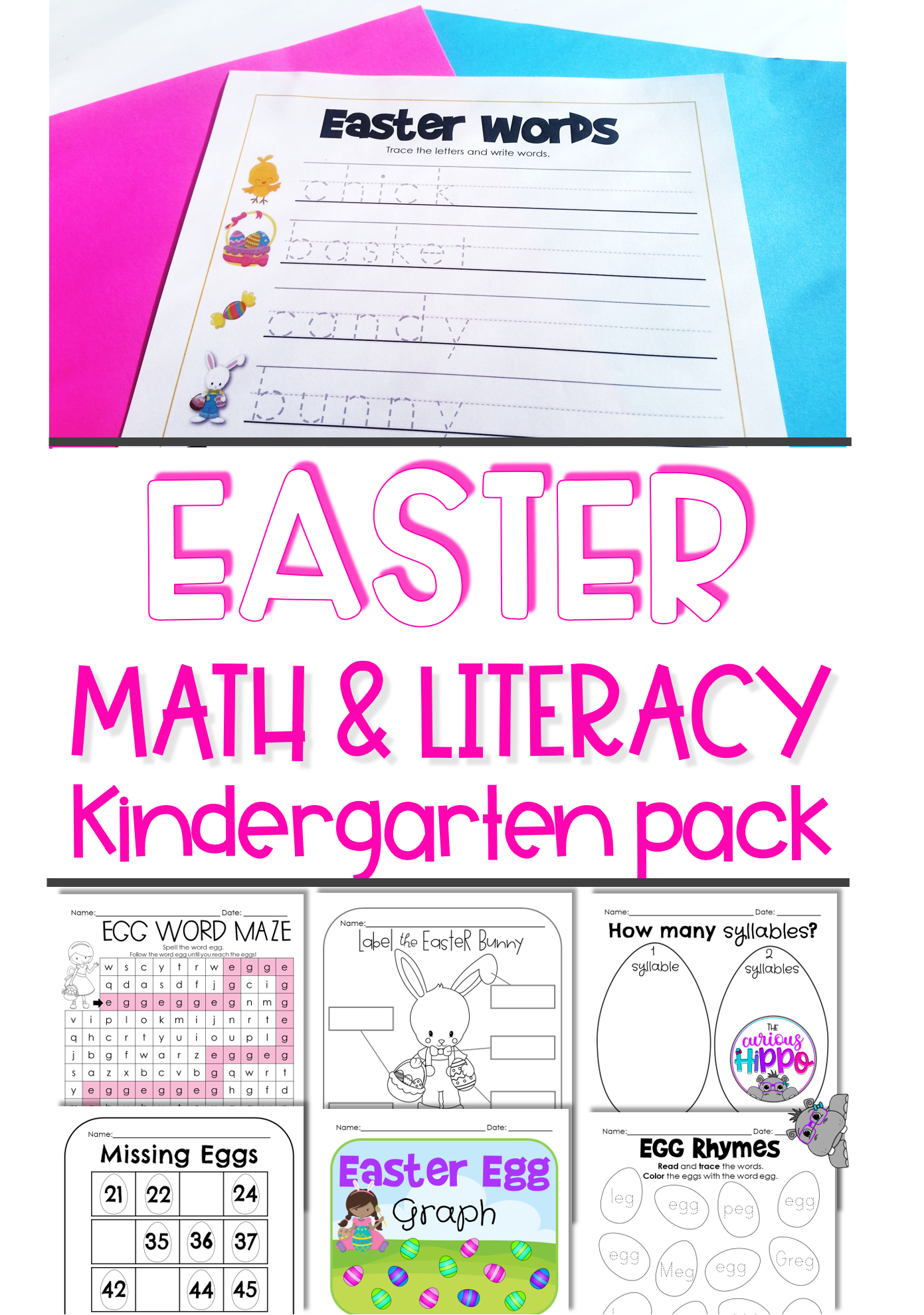 Kindergarten Activities For Easter