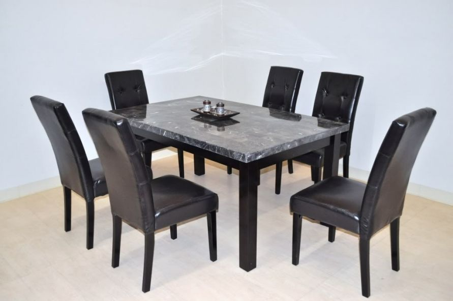 6 Person Kitchen Table Open Commercial Design Set Furnitures Chair