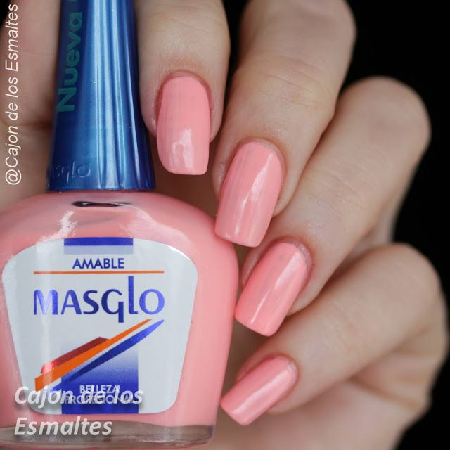 Nuevos esmaltes de uñas Masglo - Parte 1