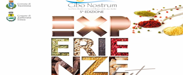 Cibo Nostrum 2016 a #Taormina e Zafferana