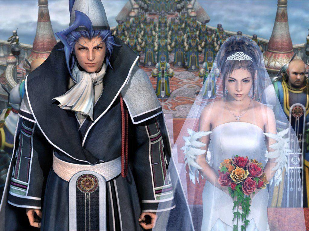 CG Artwork Seymour Yuna Wedding