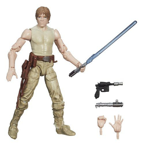 Star Wars The Black Series Luke Skywalker #21 Figure 3.75 Inches Star Wars http://www.amazon.com/dp/B00CG5X0FY/ref=cm_sw_r_pi_dp_Ywdswb02YH0AA