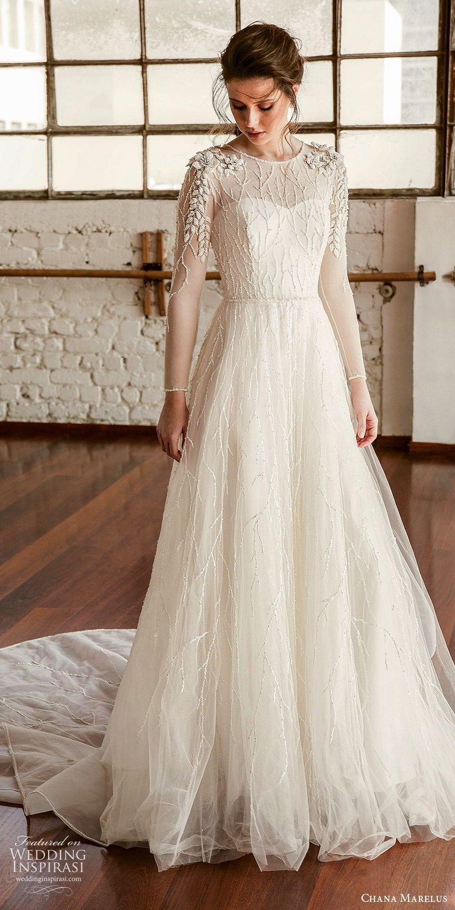 Chana Marelus Fall/Winter 2019 Wedding Dresses | Wedding Inspirasi