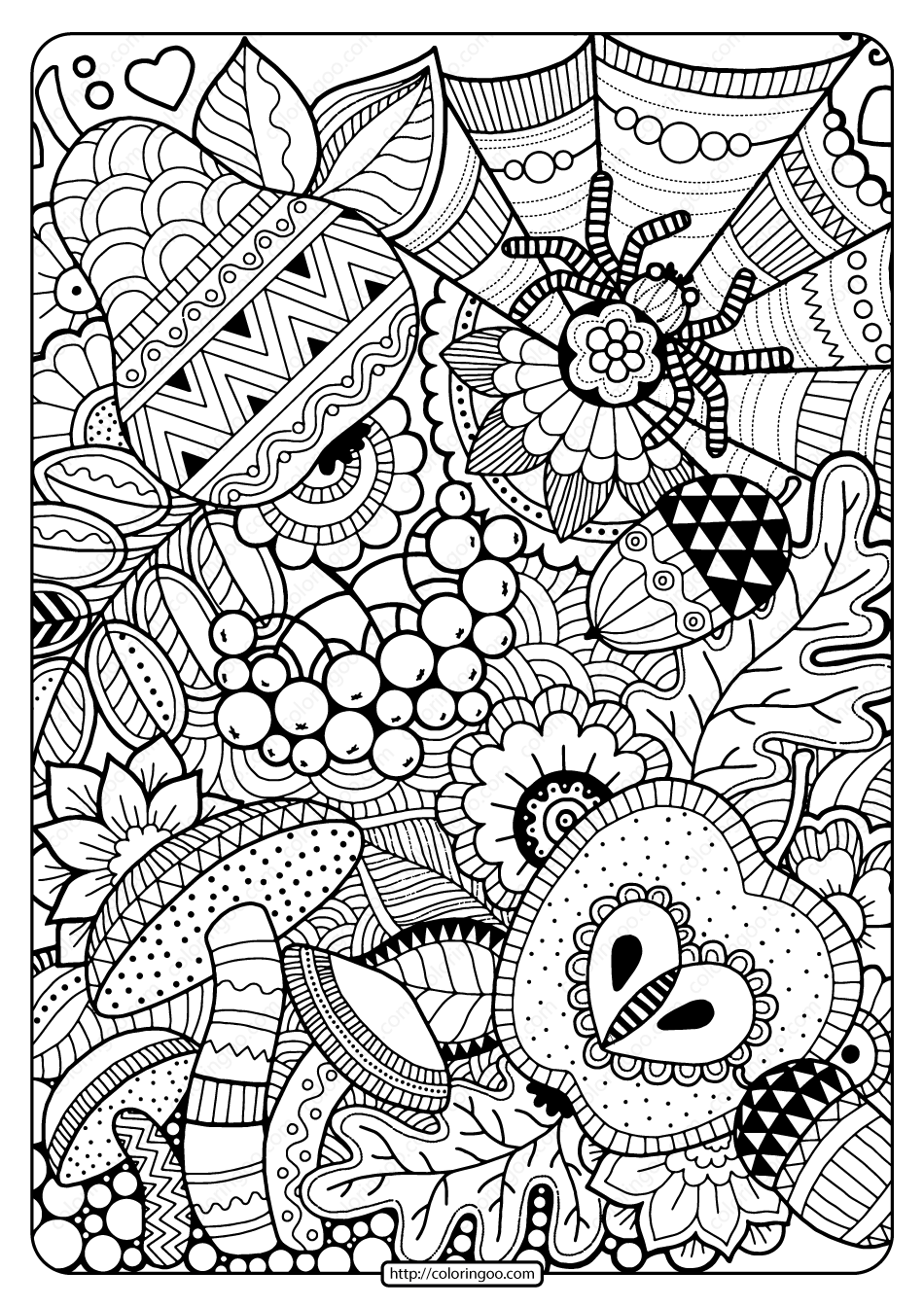 Zentangle Coloring Pages New Tips