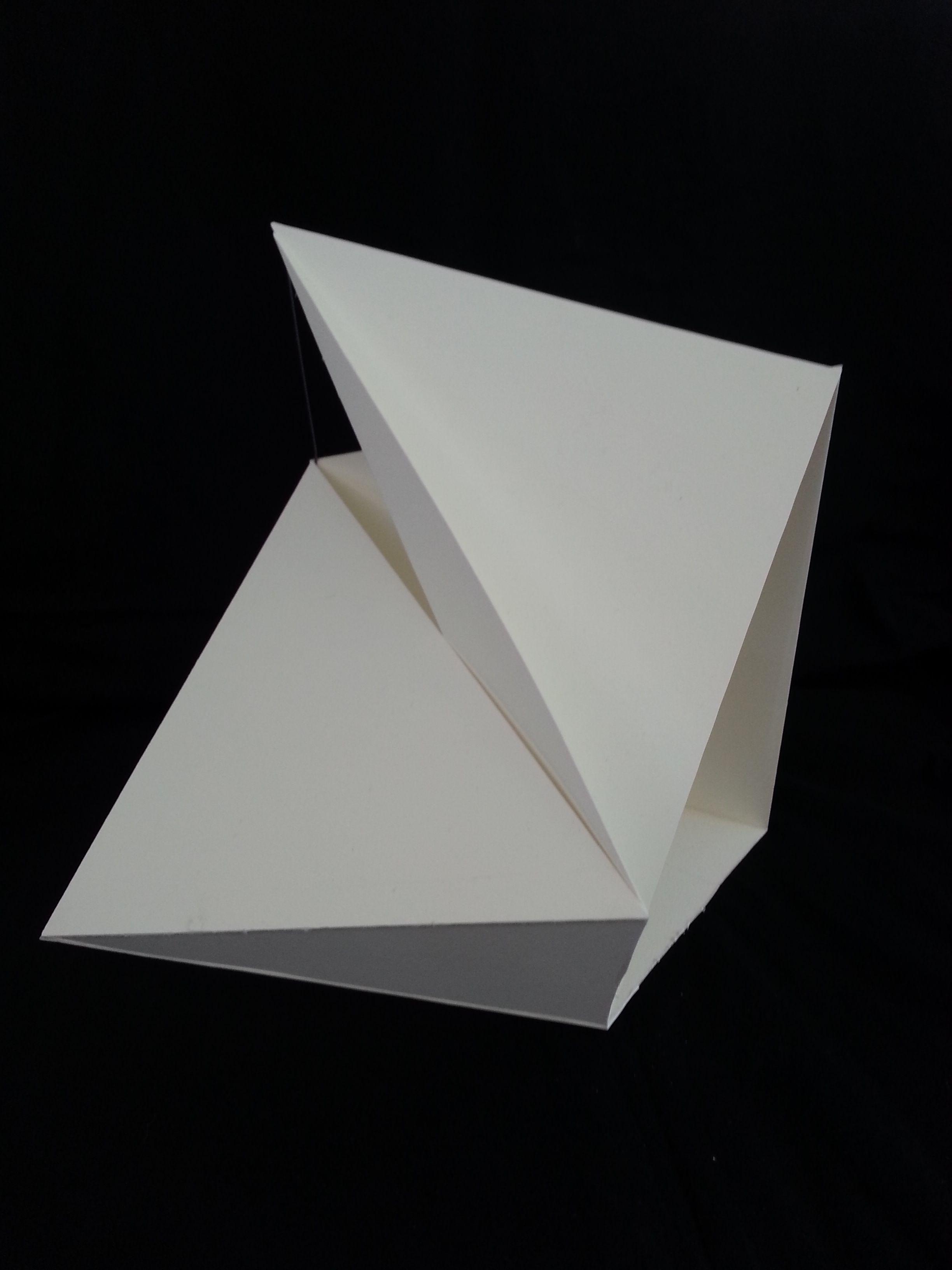 Concept Model III Folding ArchitectureParametric