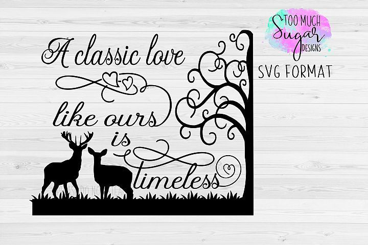 Download Love SVG / Deer / Love Designs / Valentines Day ...