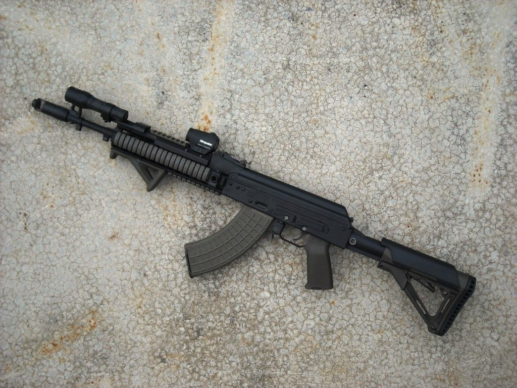AK with thorntail light mount | Rifles | Pinterest | Tactical ak ...