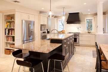 Two Level Kitchen Island Design Pictures Remodel Decor And Ideas Page 5 Modern Kitchen Island Luxury Kitchen Island Kitchen Island Design