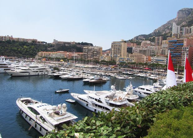 Monaco harbour, photo Nina Varis