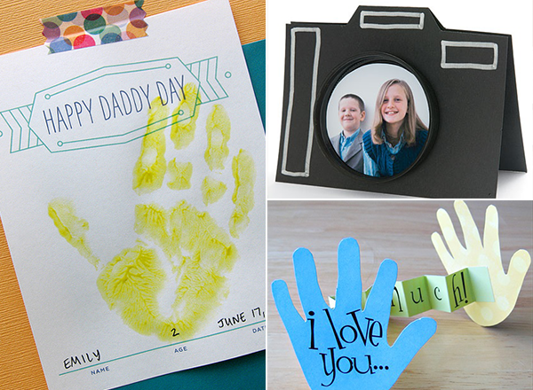 Handmade cards for the best dad ever father 39 s day - Geschenk basteln papa ...