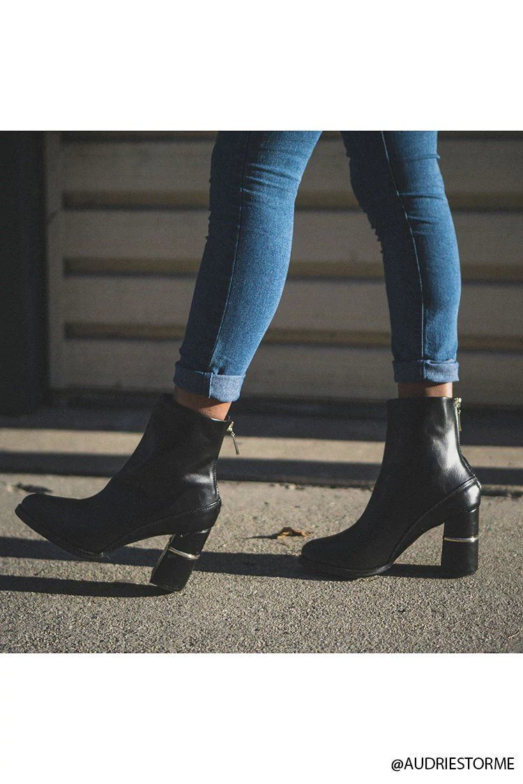 Faux Leather Ankle Boots | Forever21
