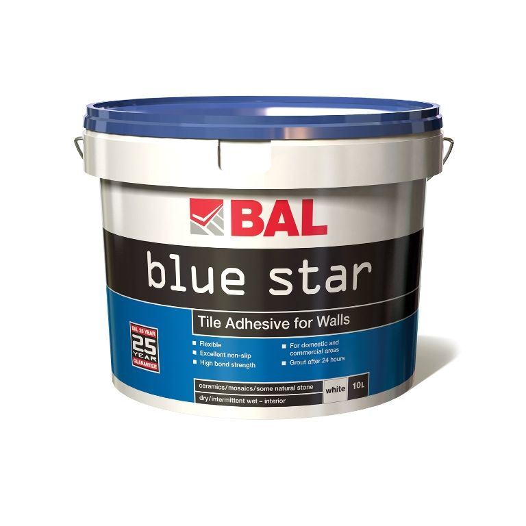 Bal Blue Star Tiling Products Bal Adhesives Tile Pinterest
