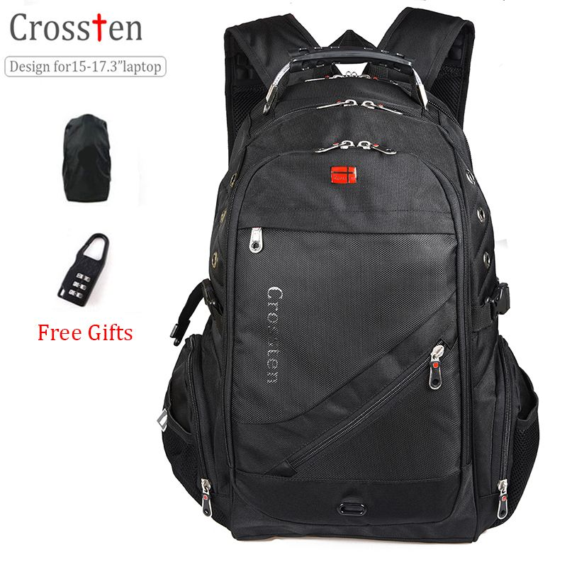 Best Price Crossten Swiss Military Army Travel Bags Laptop Backpack 15 6 17  Multifunctional Schoolbag  Military  Bags c3954907c3edc