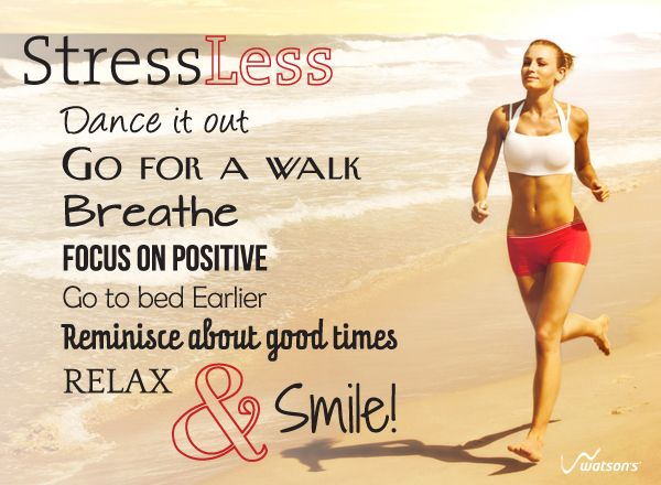 Stress Less, Relax & Smile