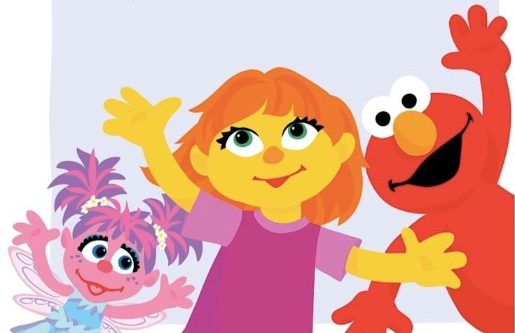 Julia is the first 'Sesame Street' character with autism. See how she's bringing kids together.