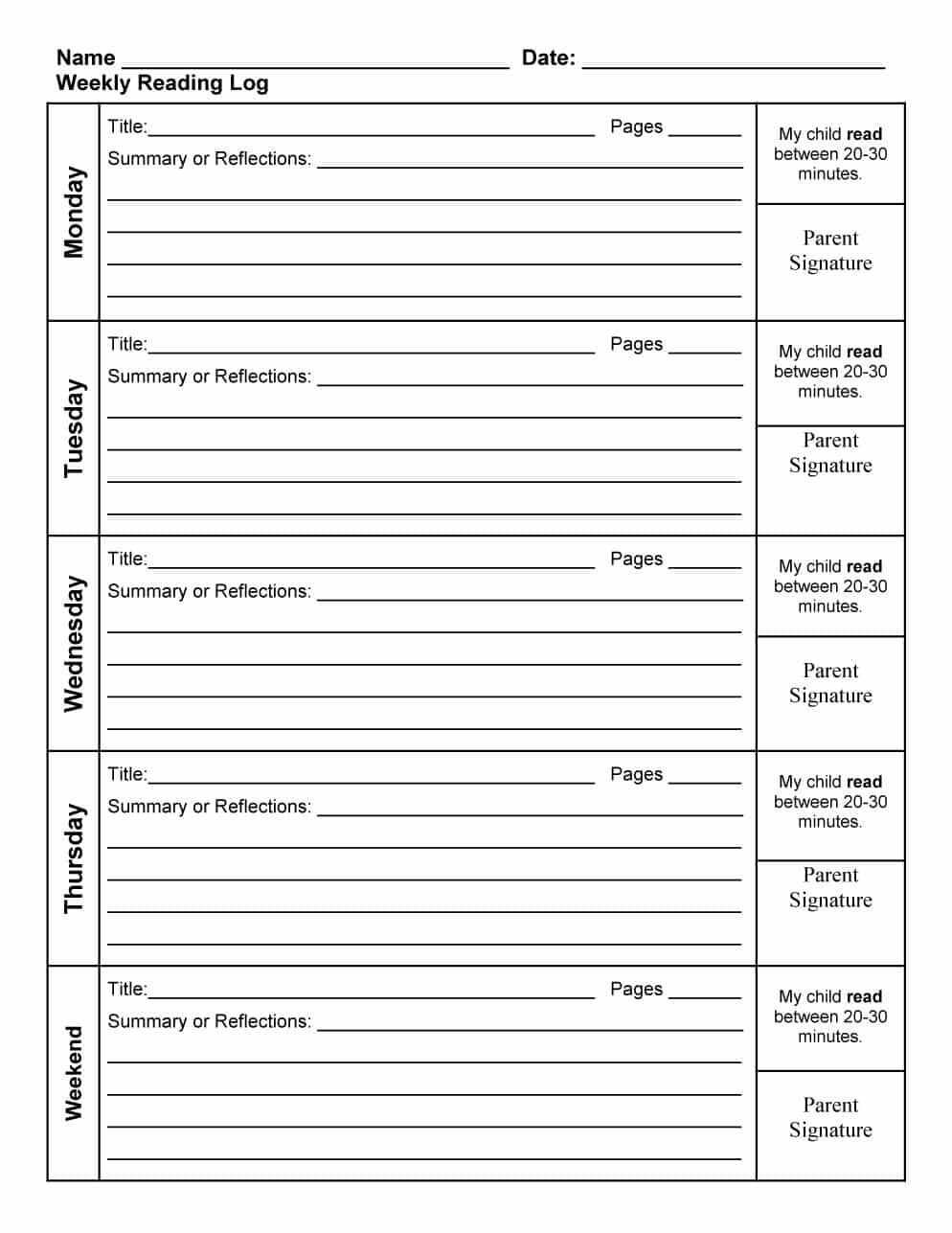 Pin by Angela Wellard on educational Reading log