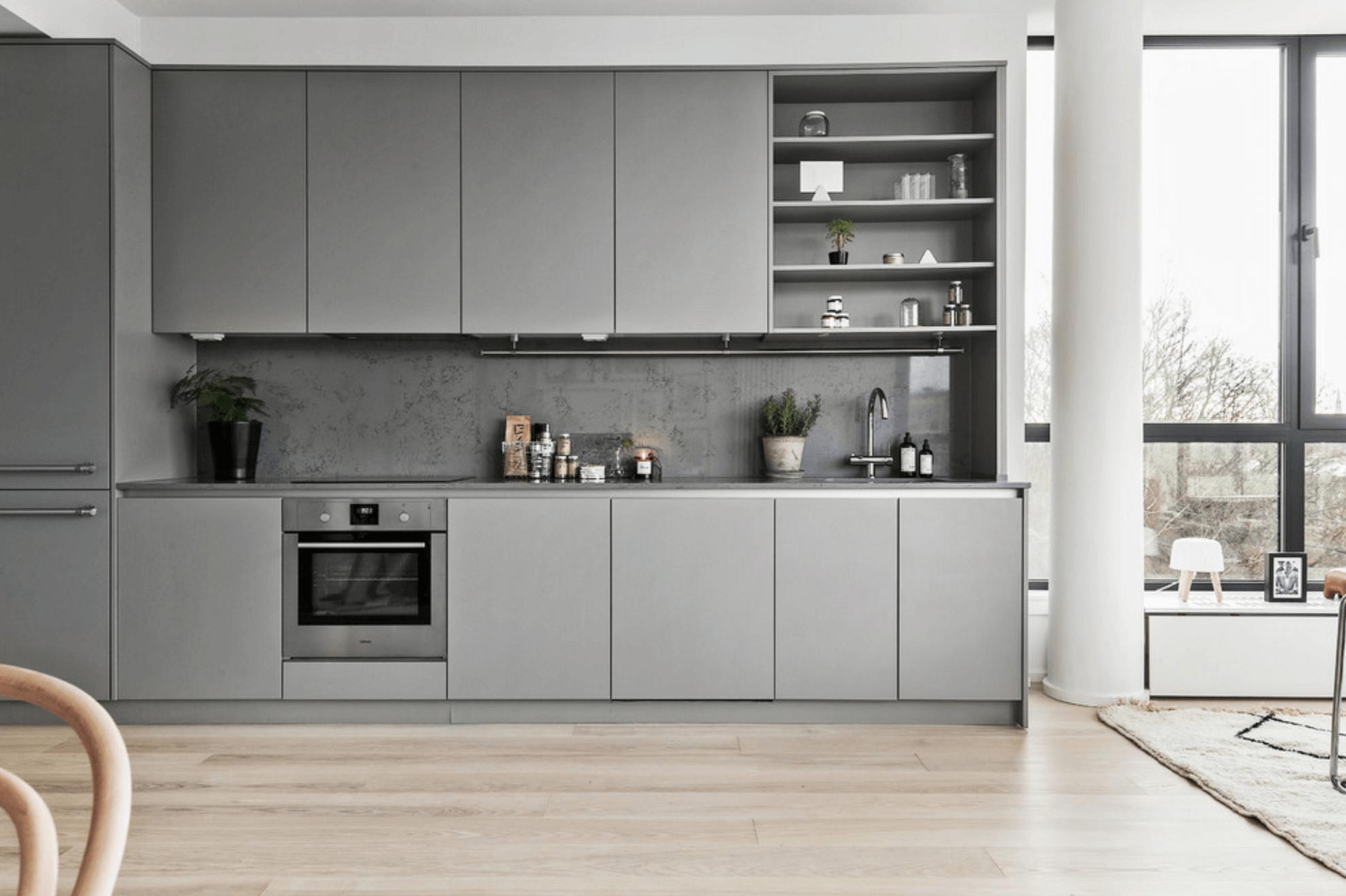 Stunningly Scandinavian Interior Designs Kitchen Room Design Grey Kitchen Designs Modern Kitchen Design