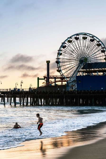 20 Best California Beach Vacation Spots Home Sweet Pinterest Ferris Wheel And