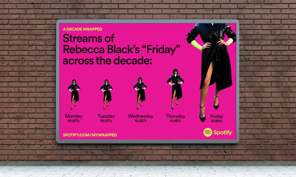 Spotify repasa lo que hemos escuchado esta década a través