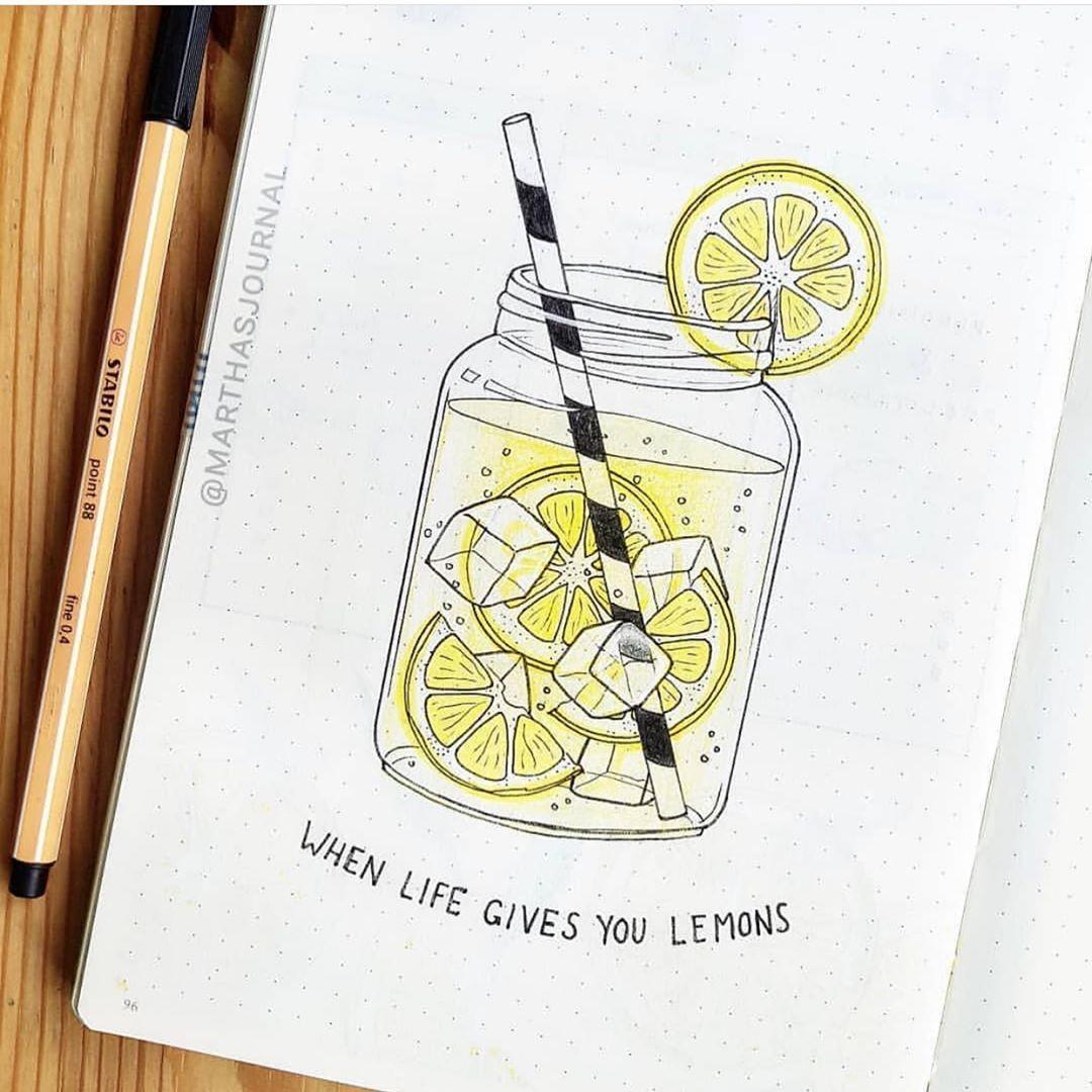 """Bullet Journal � on Instagram: """"Created by @marthasjournal . . . . . . . . . . . . . . . #bulletjournal #paper #notebook #mood #moodtrackers #letteringchallenge #lettering…"""""""