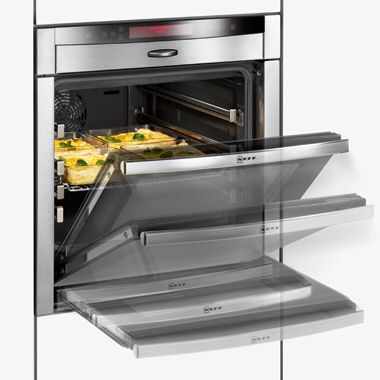 Retractable oven door. & Tight on kitchen space? Retractable oven door. | Design Ideas ...