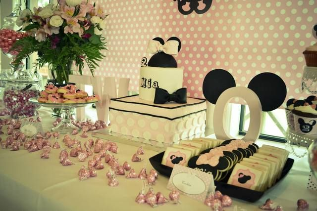 Minnie Mouse Birthday Party Ideas | Photo 1 of 11 | Catch My Party