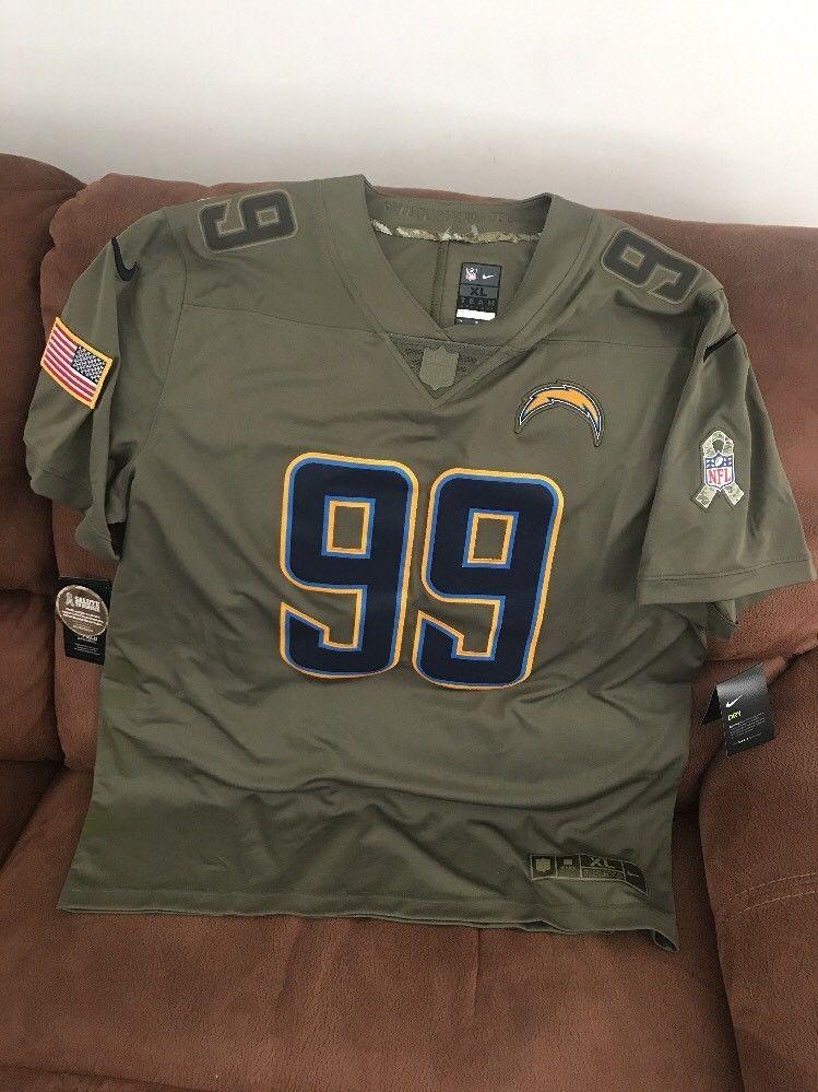 Nike LA Chargers Joey Bosa  99 Salute To Service Football Jersey NWT Size  XL Men  c39a997e1