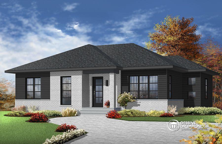 Détail du plan de Maison unifamiliale W3138 Dream house