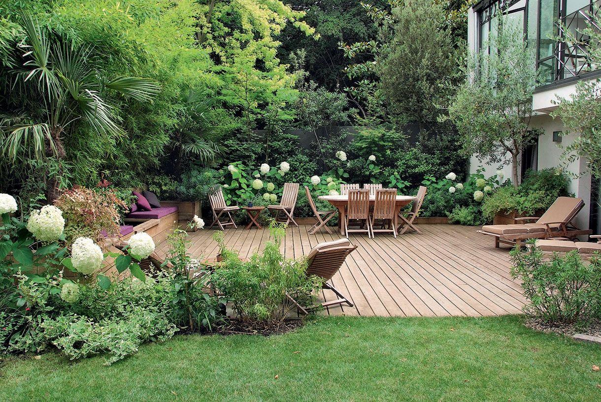 Un jardin l 39 abri des regards gardens - Creer un jardin mediterraneen ...
