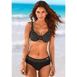 Photo of Große Größen: Lascana Bügel-Bikini, schwarz-weiß, Gr.46F Lascana