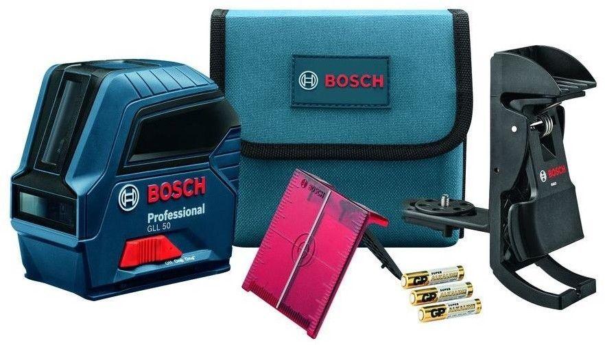 Professional Grade GLL50 Bosch SelfLeveling CrossLine